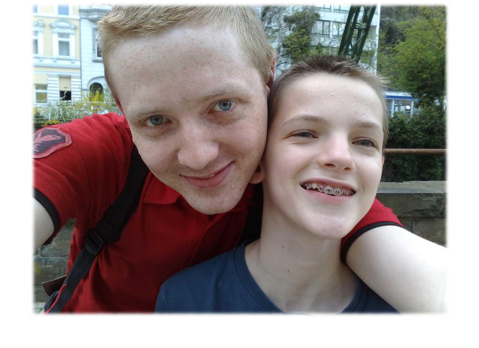 Patrick und Dominik