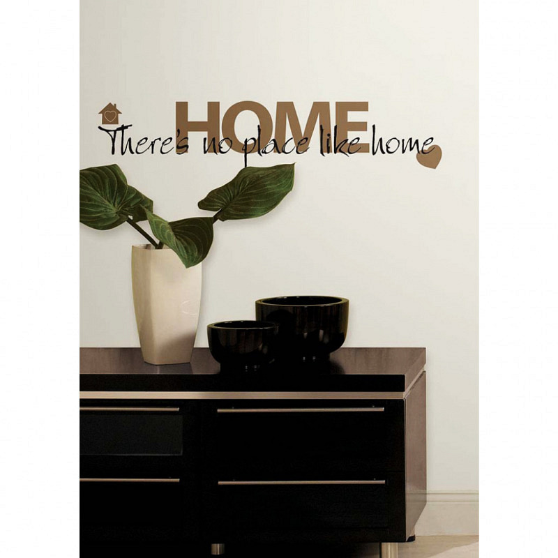 RoomMates Wandsticker There's No Place Like Home