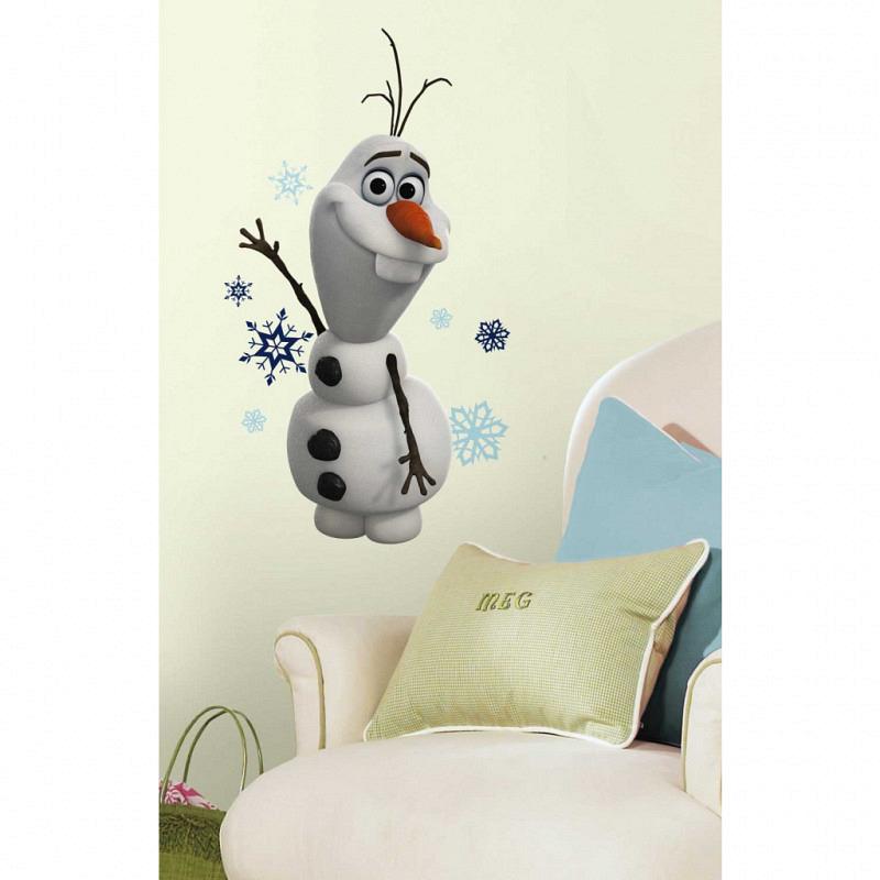 RoomMates Wandsticker Schneemann Olaf