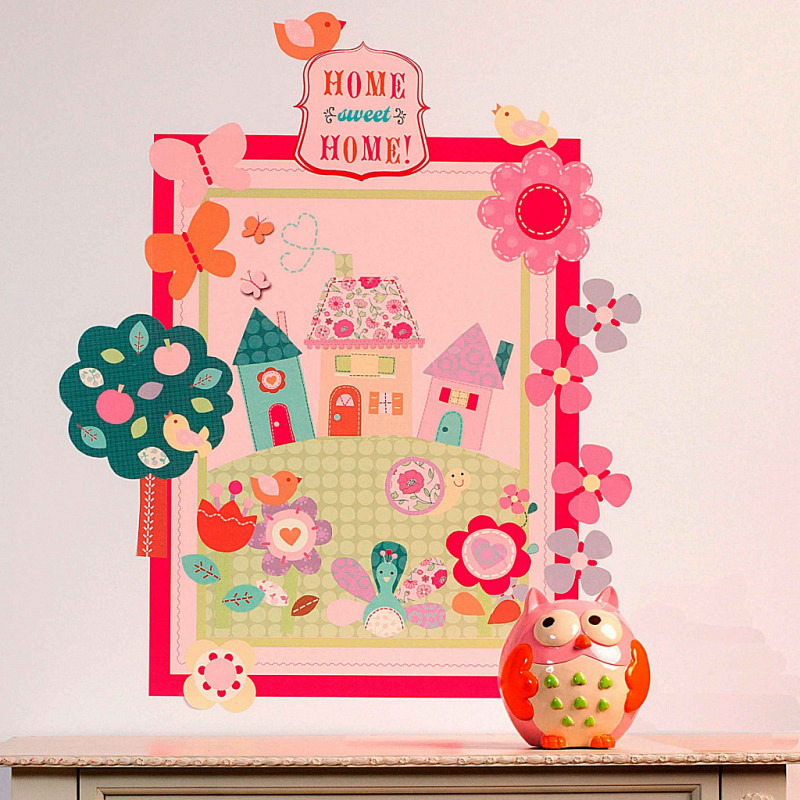 Wandsticker Wallplay Home Sweet Home