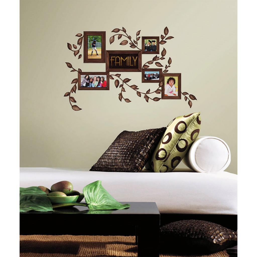 roommates wandsticker wandtattoo wandbild familienfotos. Black Bedroom Furniture Sets. Home Design Ideas