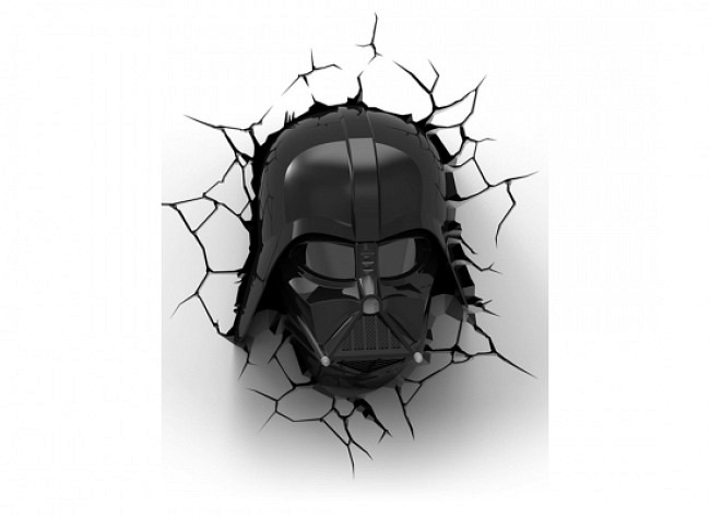 Star Wars Darth Vader 3D LED Wandlicht