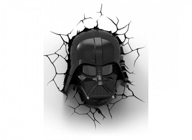 Star Wars Darth Vader 3D LED Wandlicht