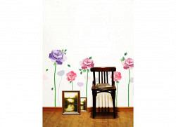 Wandsticker Riesen Rosen