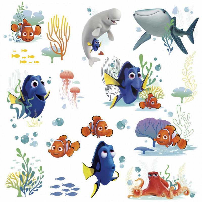 RoomMates Wandsticker Disney Pixar Findet Dorie