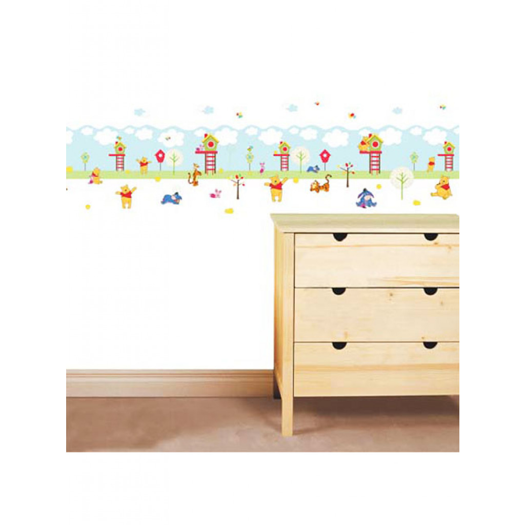 bord re wandsticker disney winnie the pooh 108 sticker babyzimmer kinder. Black Bedroom Furniture Sets. Home Design Ideas