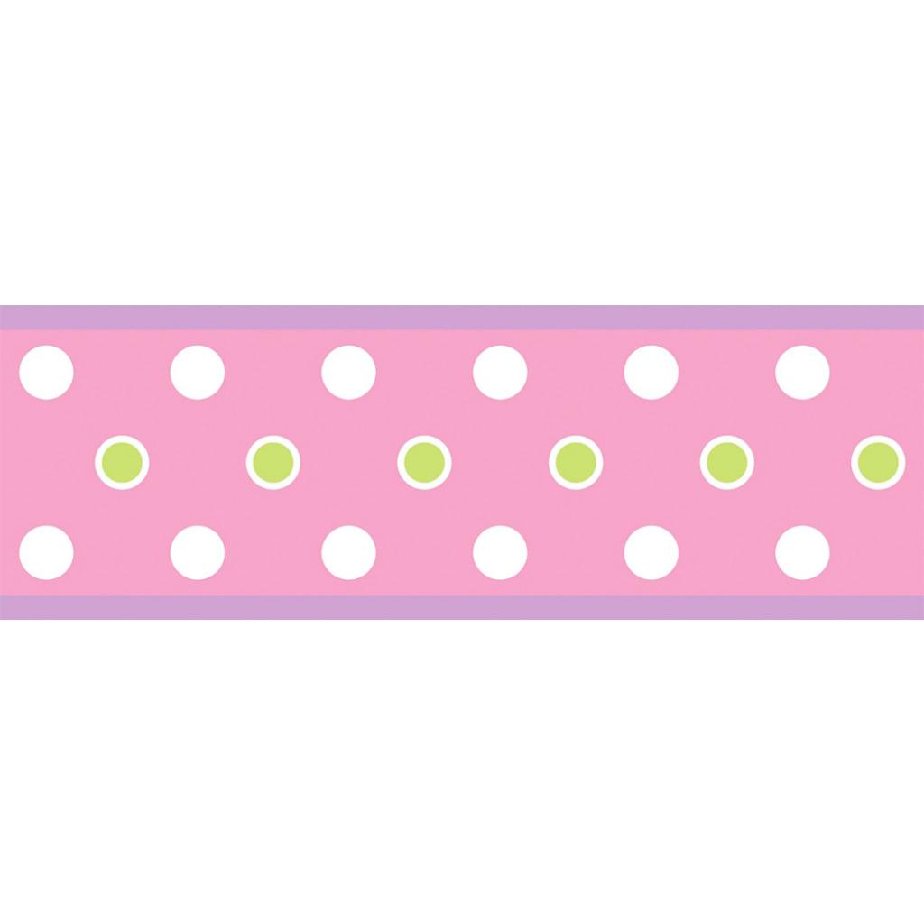 Roommates wandsticker bord re punkte rosa dots pink 4 37 eur 1m chf picclick ch - Wandsticker punkte ...