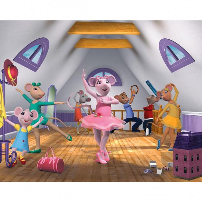 Fototapete Kinderzimmer Angelina Ballerina