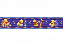 Tapeten Borte Winnie the Pooh