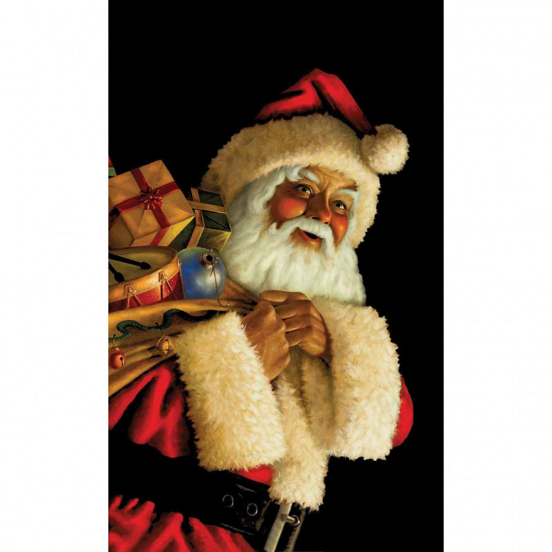WOWindow-Poster Fensterbilder Weihnachtsmann