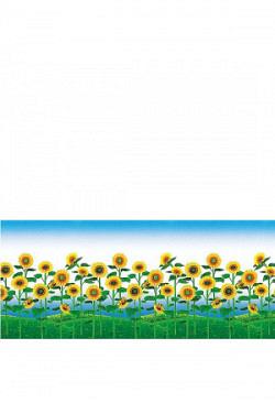 Fensterfolie selbstklebend Sonnenblumenfeld Fros..