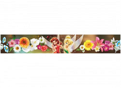 Bordüre Disney Fairies Tinkerbell Blütenfee
