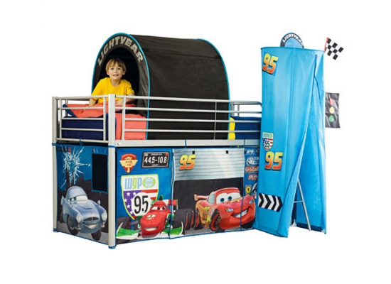 disney cars vorhang set tunnel zubeh r f r hochbett ebay. Black Bedroom Furniture Sets. Home Design Ideas
