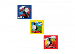 Wandsticker Lok Thomas Comic Art Quadrate