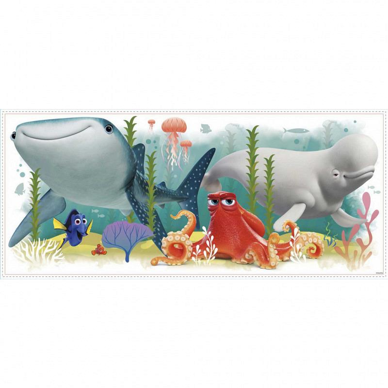 RoomMates Wandsticker Findet Dorie und Nemo XXL