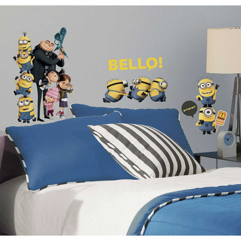 RoomMates Wandsticker Minions Despicable Me