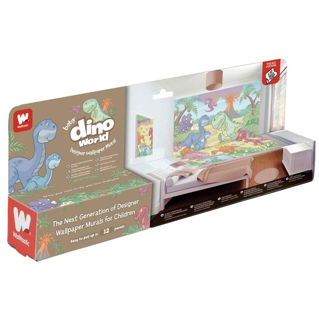 Kinderzimmer Tapete Dino : Fototapete Kinderzimmer Wandbild Baby Dinosaurier Dino World Jungen
