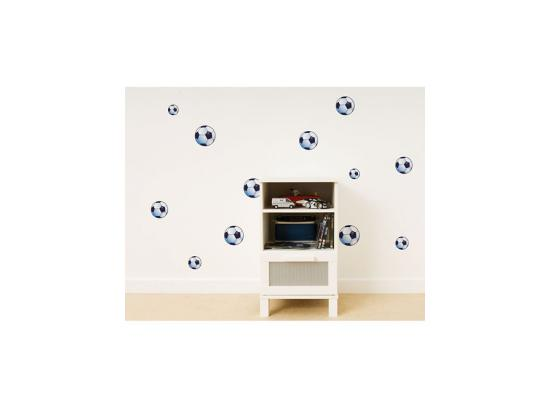 wandsticker wandtattoo fu ball wanddeko kinderzimmer. Black Bedroom Furniture Sets. Home Design Ideas