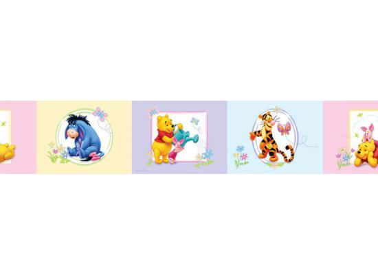 kinderzimmer bord re disney winnie the pooh 100 acre wood babyzimmer 17 99 1m ebay. Black Bedroom Furniture Sets. Home Design Ideas