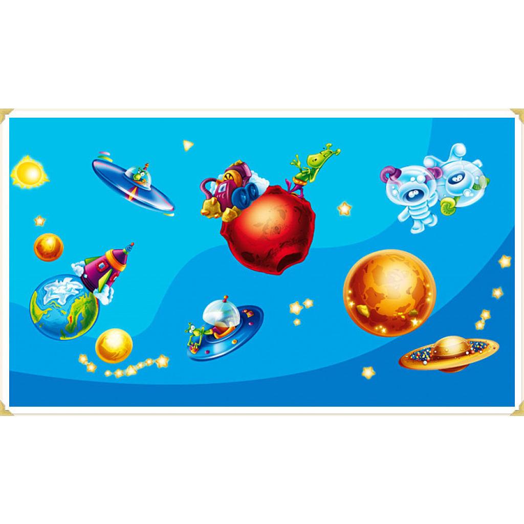 Wanddekoration Kinderzimmer Wandaufkleber Weltall Planeten
