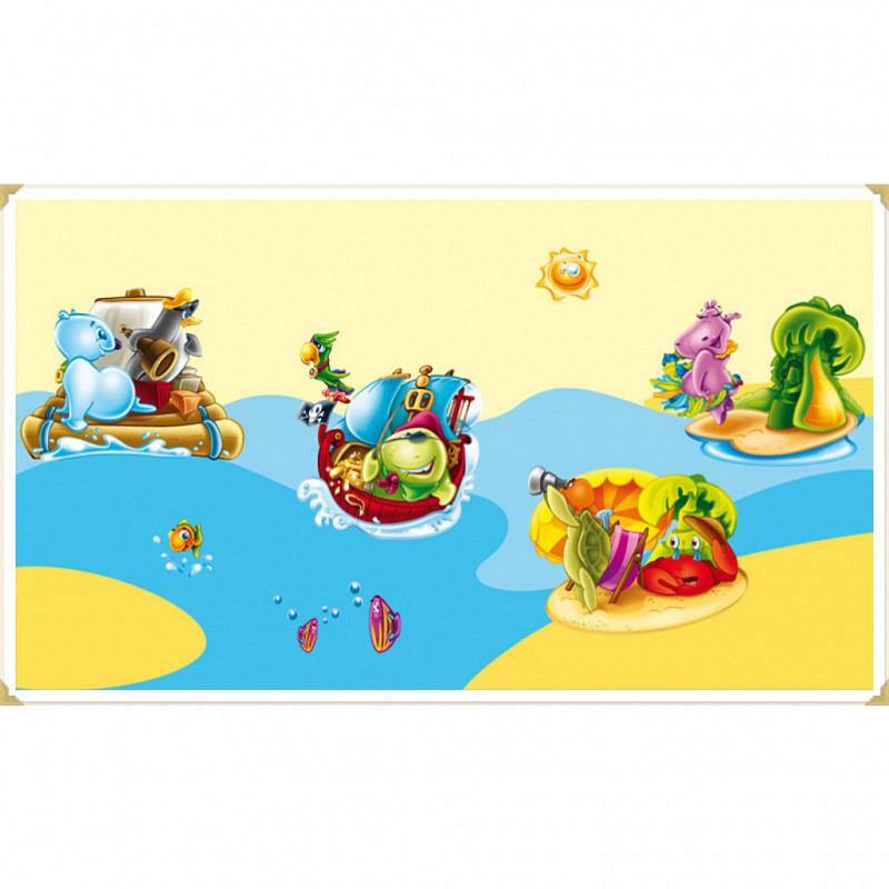 Wandsticker Insel der Tiere