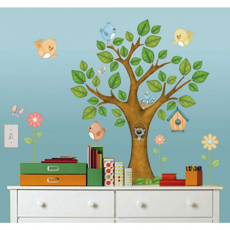 Borders Unlimited Room FX Wandsticker Baum