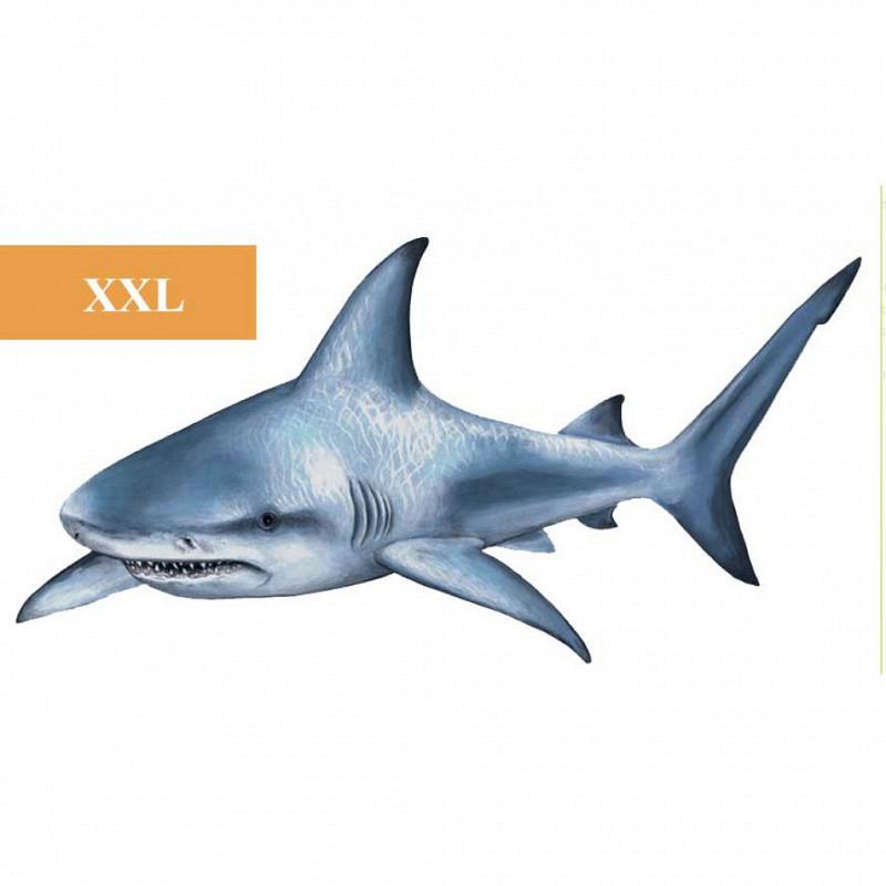 Wandsticker Unterwasser Hai