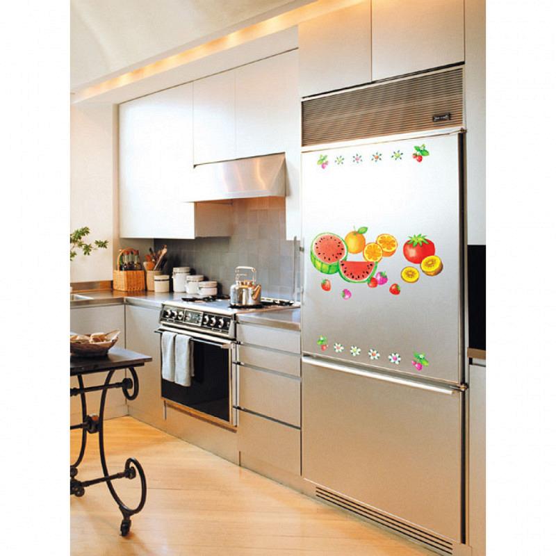 Wandsticker Küche frische Früchte