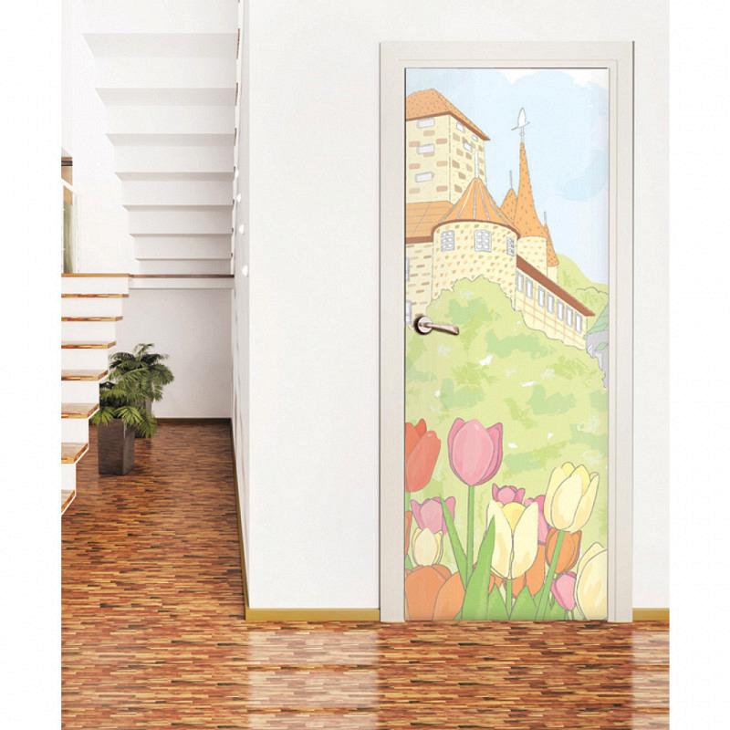 Fototapete Kinderzimmer Wandbild Traumschloss