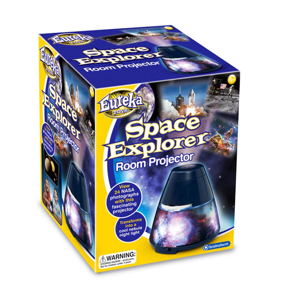 Space Explorer Raum Projektor Verpackung