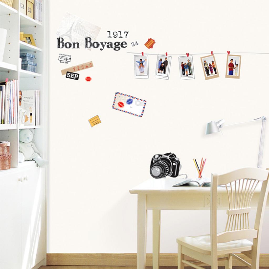 wandsticker europa reise im retro look bilderrahmen. Black Bedroom Furniture Sets. Home Design Ideas