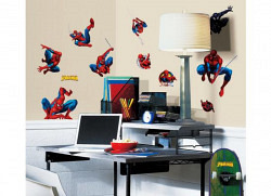 RoomMates Wandsticker Wandtattoo Amazing Spiderman