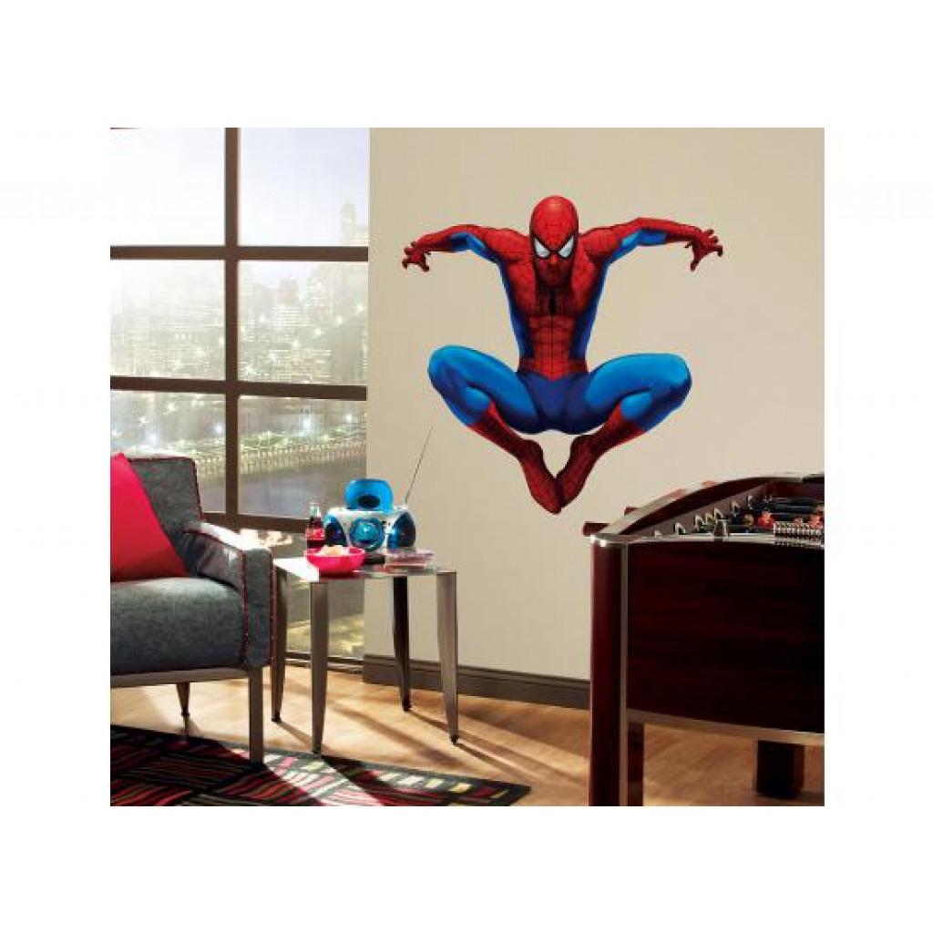 Roommates wandsticker wandbild wandtattoo amazing spiderman www 4 - Wandsticker jugendzimmer ...