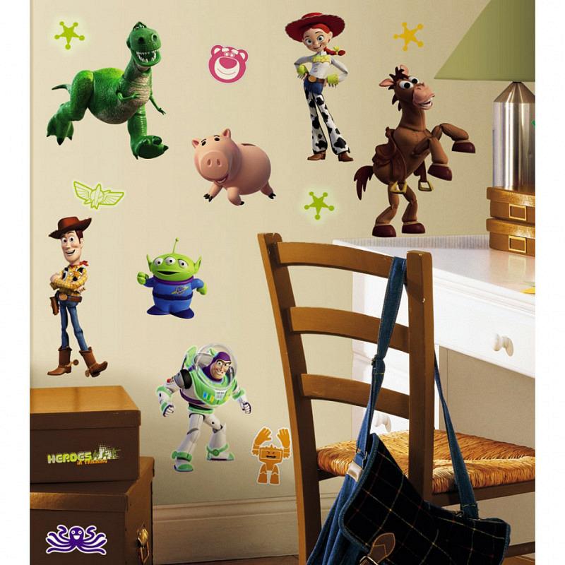 RoomMates Wandtattoo Toy Story leuchten im Dunkeln