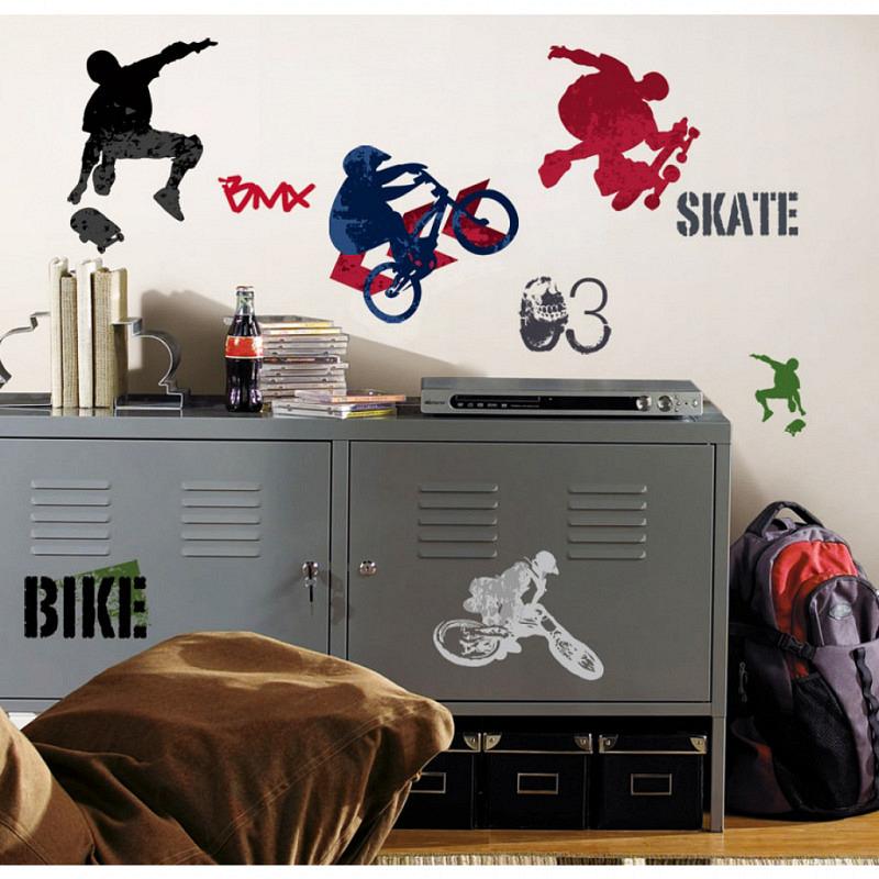 RoomMates Wandtattoo Extreme Sports