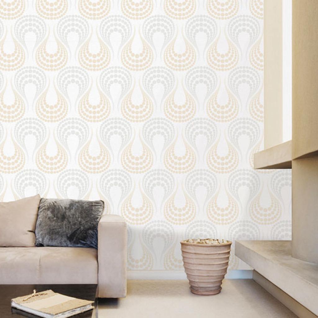 tapete selbstklebend glitter embossing effekt wandtapete. Black Bedroom Furniture Sets. Home Design Ideas