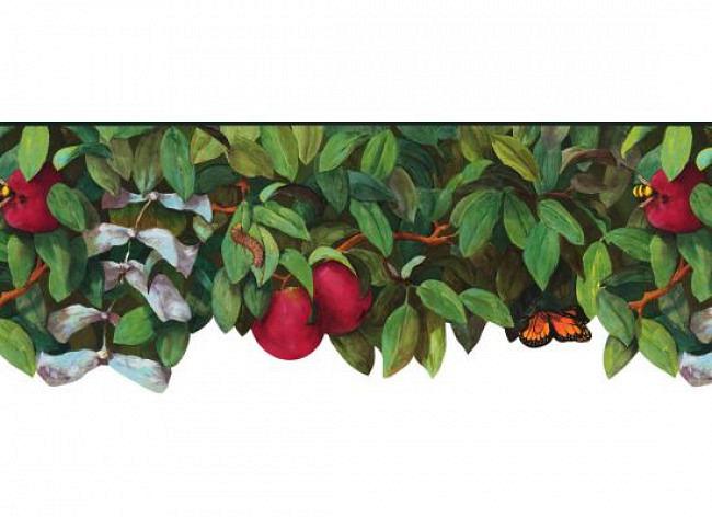 Tapetenwelt Im Baumhaus Bordüre Früchte