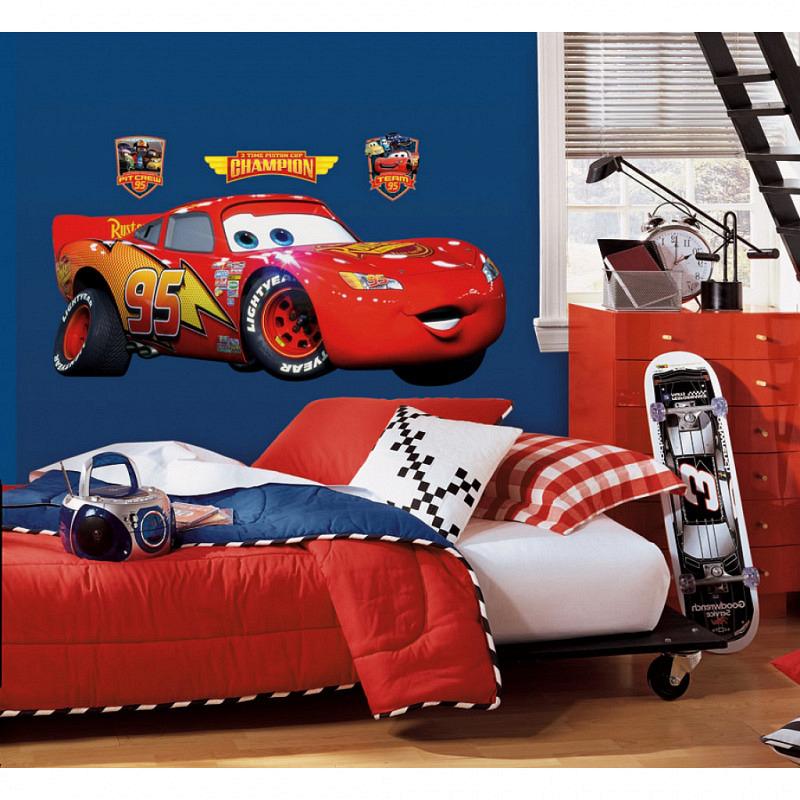 RoomMates Wandsticker Lightning McQueen XL