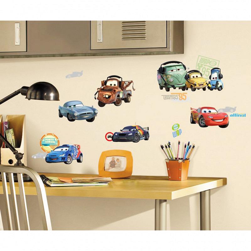 RoomMates Wandsticker Autos Fahrzeuge