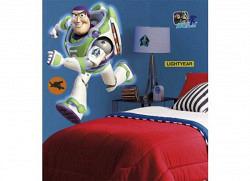 RoomMates Wandsticker Toy Story leuchtet im Dunkel