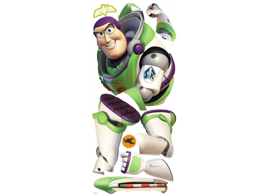 RoomMates Wandsticker Toy Story Buzz Lightyear Alphabet