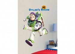 Wandsticker Toy Story Buzz Lightyear Alphabet