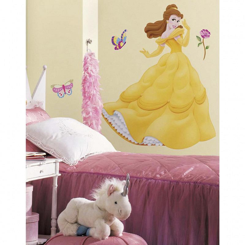 RoomMates Wandsticker Disney Princess Belle