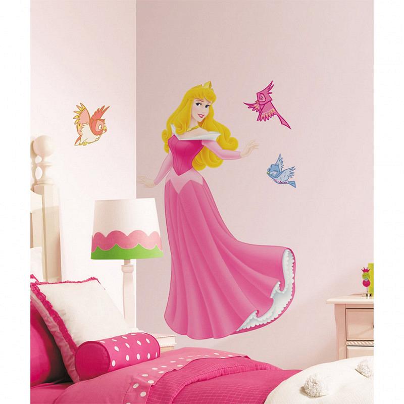 RoomMates Wandsticker Sleeping Beauty