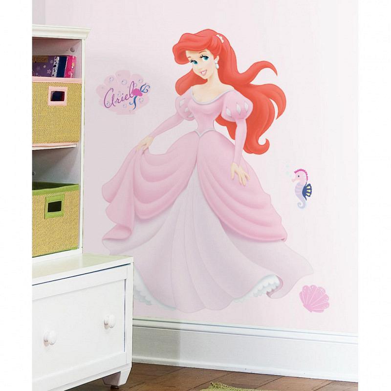 RoomMates Wandsticker Disney Princess Ariel