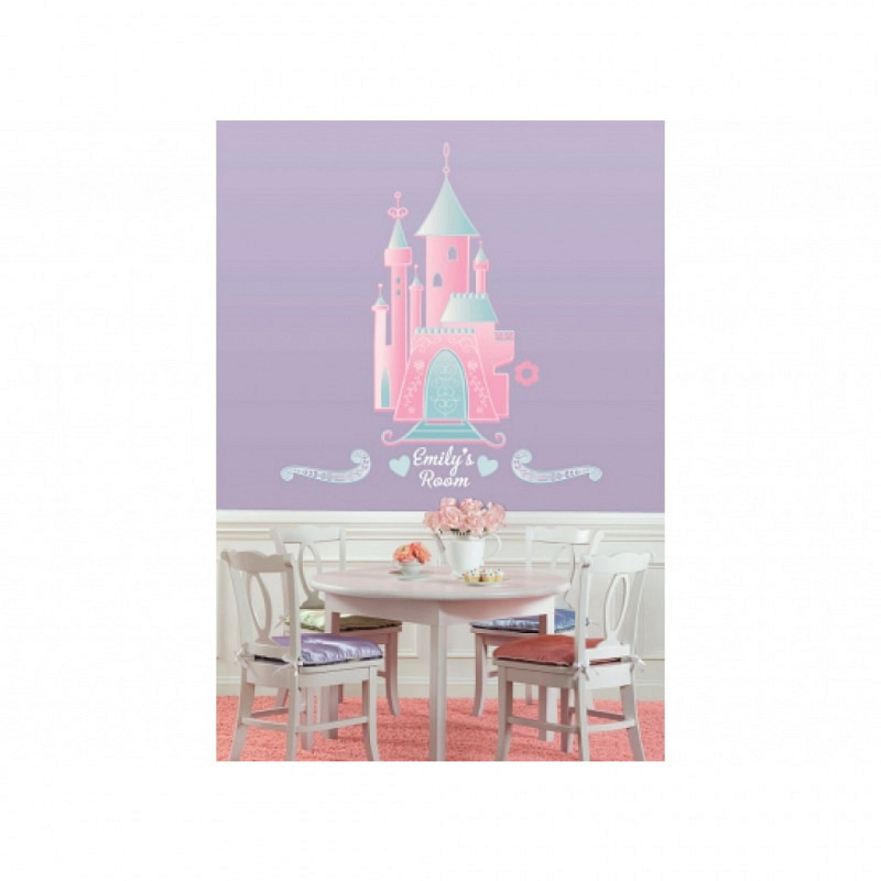 RoomMates Wandsticker XXL Disney Princess Castle