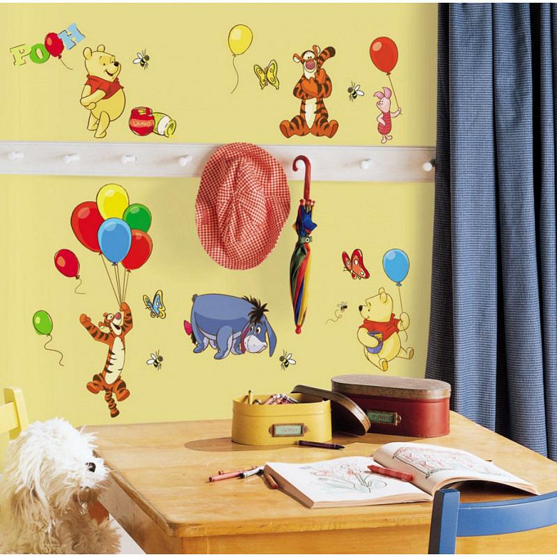 RoomMates Wandsticker Winnie Pooh
