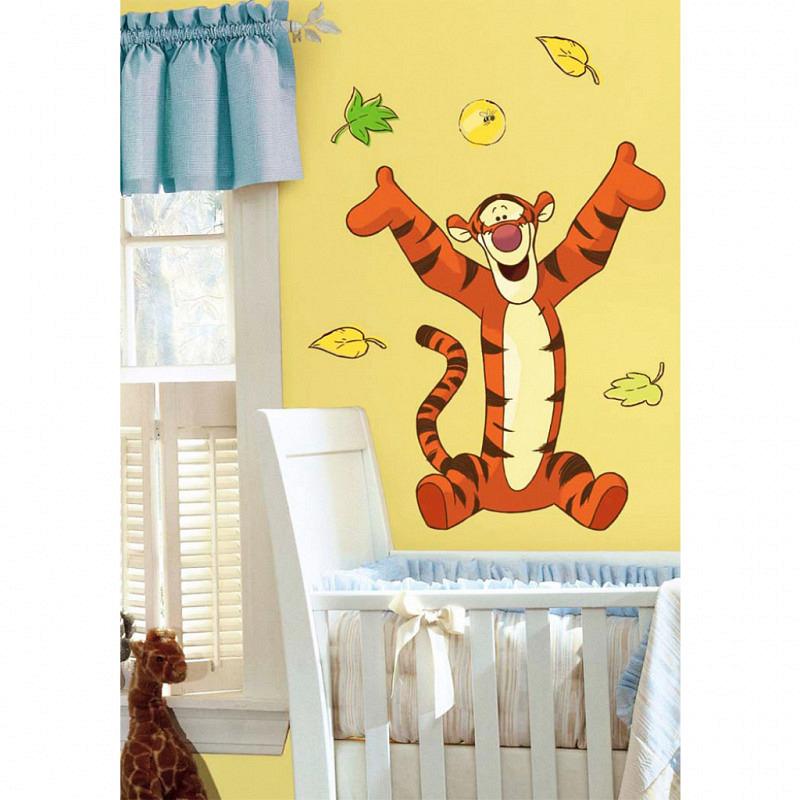RoomMates Wandbild Winnie Pooh Tigger