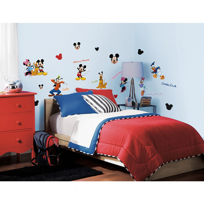 RoomMates Wandtattoo Mickey Mouse Club