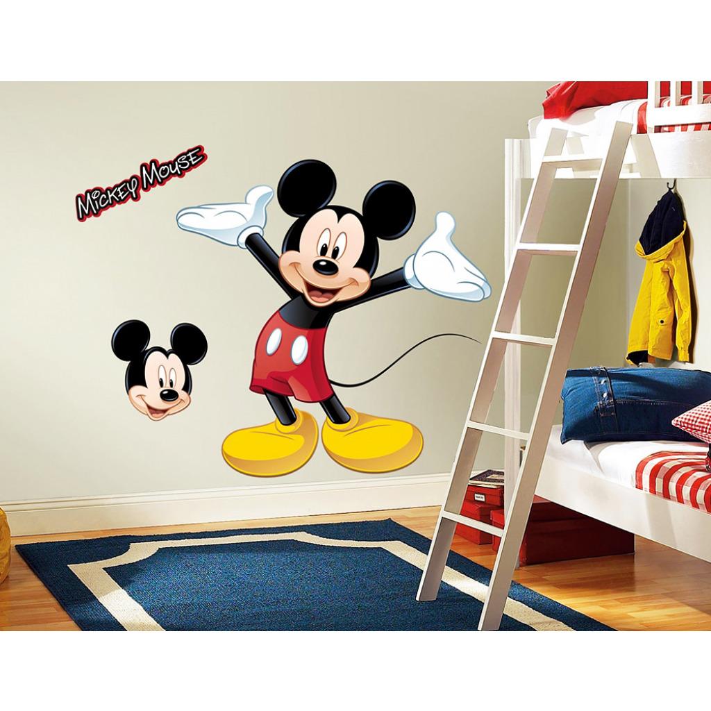 Roommates wandsticker mickey mouse xxl mickey mouse - Roommates wandsticker ...